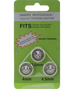 Makins Hollow Core Extruder Adapters - Large Set