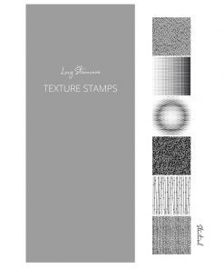 Lucy Struncova Stamp & Texture (Set of 6) - Structural