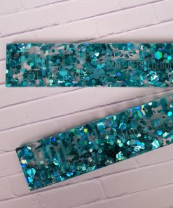Pair of Polly Collective Depth Guides - Peacock Chunky Glitter.4