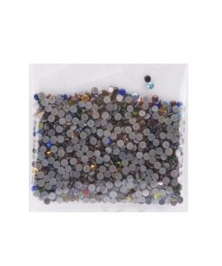 3mm Assorted Hot Fix Glass Crystals (1000 per pack).1