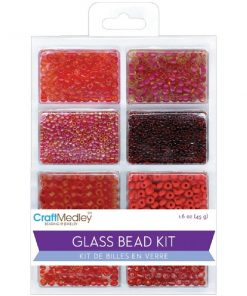 Glass Bead Kit - Rouge